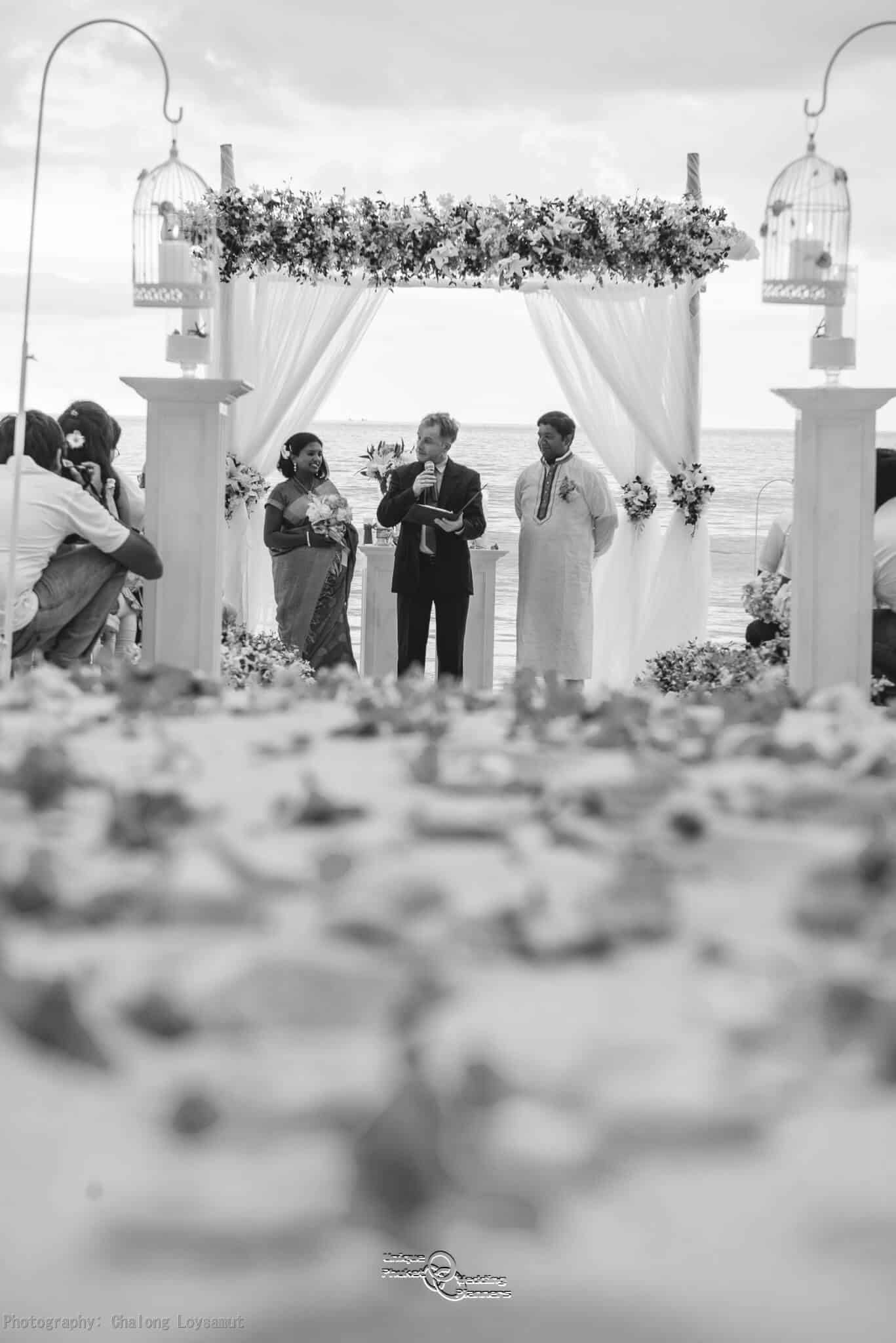 Phuket Beach Wedding Vow Remewal Bw 34