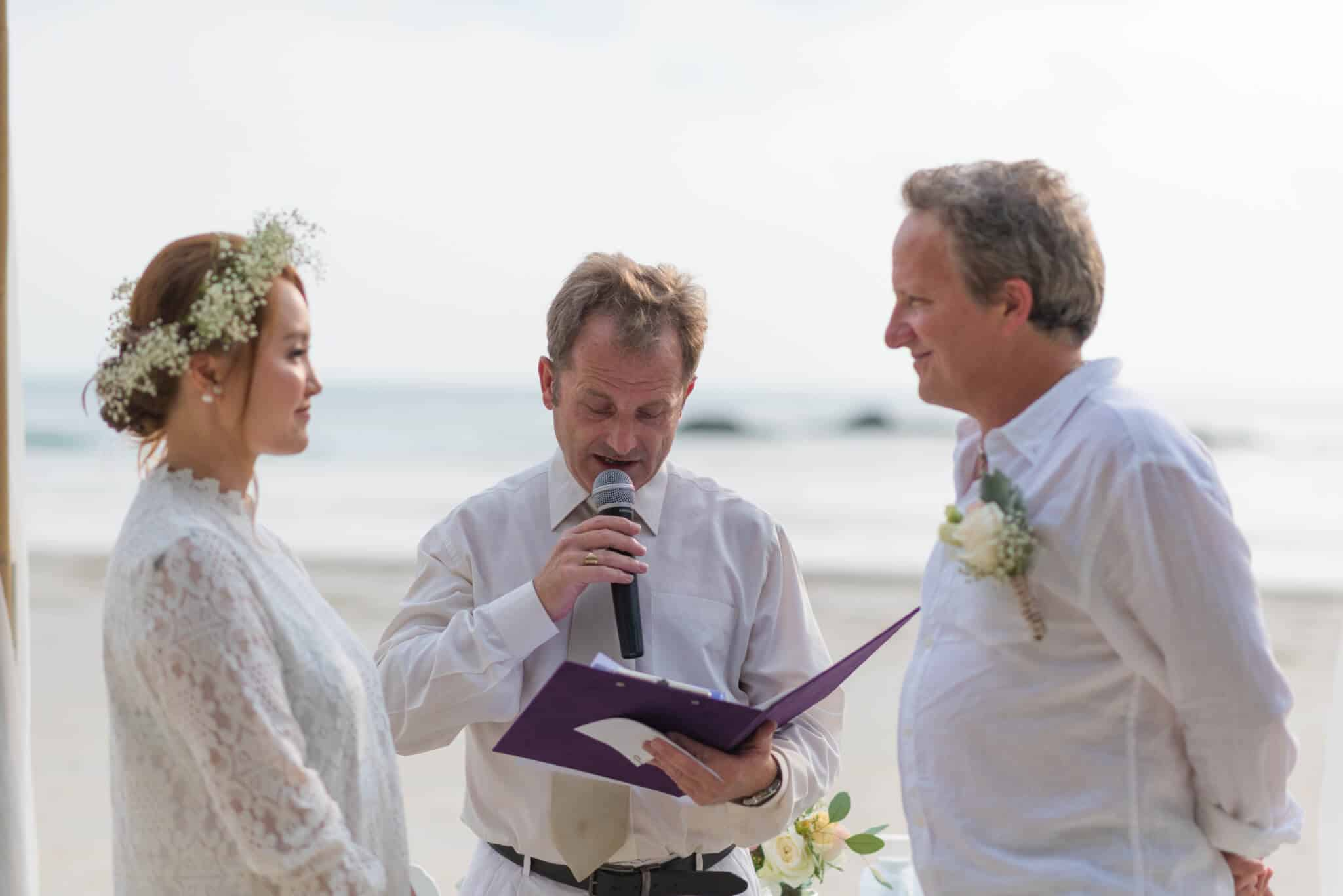 Wedding Celebrant In Phuket Tina James Beach Wedding Ceremony Kata 5