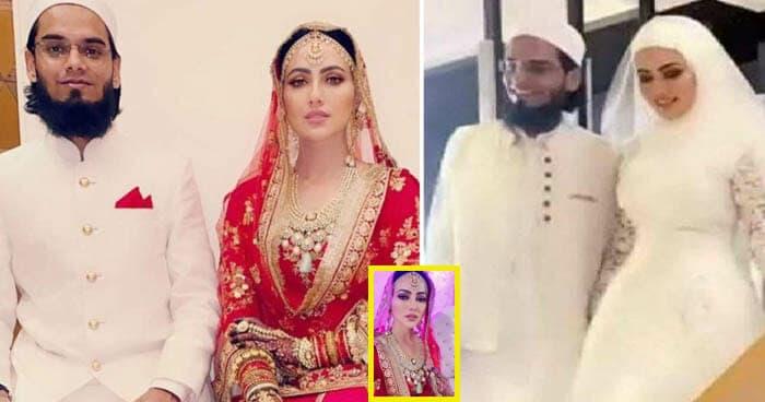 Sana-khan-ties-the-knot Jpg