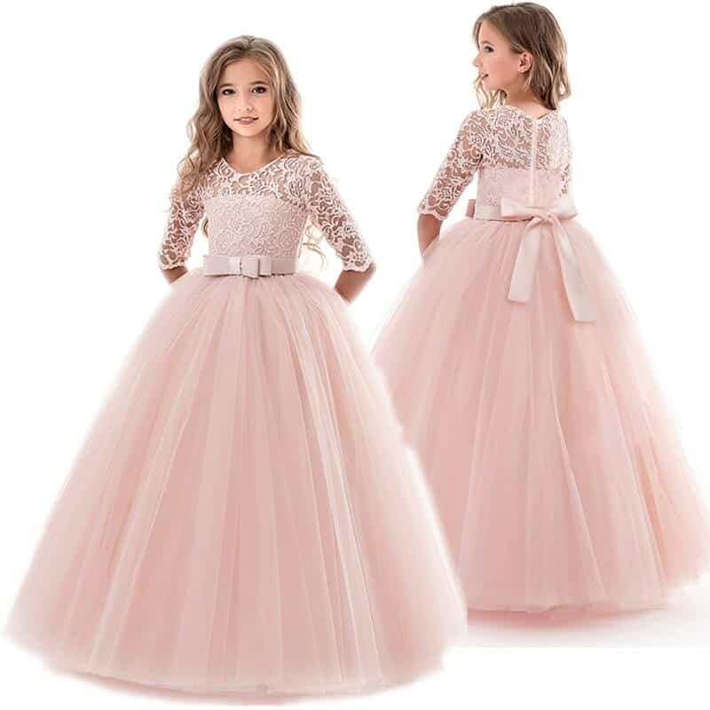 Teenage-girls-dress-summer-children-s-clothing-party-elegant-princess-long-tulle-baby-girls-kids-lace Jpg